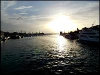 Klicken Sie auf die Grafik für eine größere Ansicht  Name:Abendstimmung Ort und Marina.jpg Hits:9 Größe:56,5 KB ID:9524