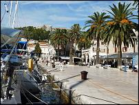 Klicken Sie auf die Grafik für eine größere Ansicht  Name:Hvar-Stadthafen + Burg.jpg Hits:6 Größe:103,3 KB ID:13030